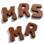 mr mrs chocolate letters